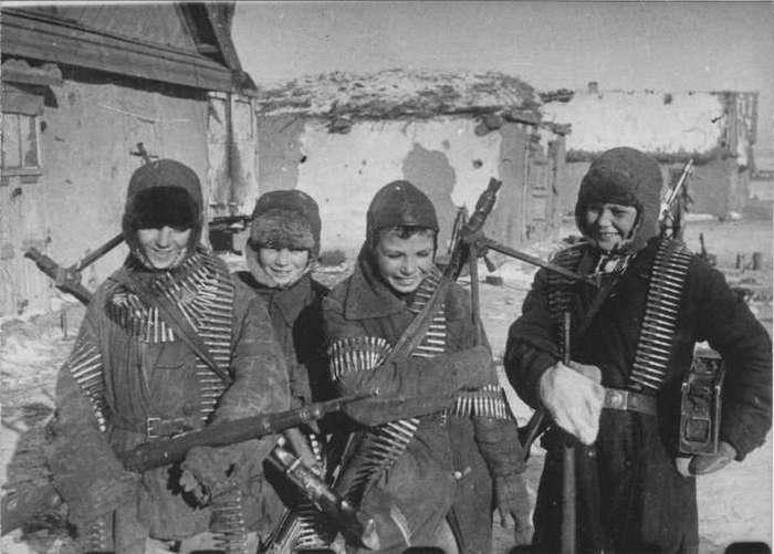 О том, как детдомовцы защищали свою деревню от фашистов