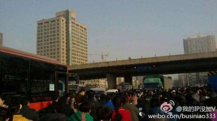 По сравнению с Москвой, китайские города не такие резиновые (6 фото)