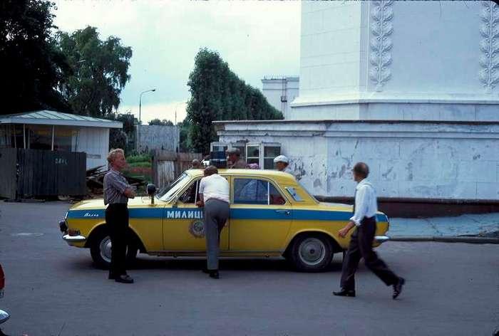 Летняя Москва 1975 года