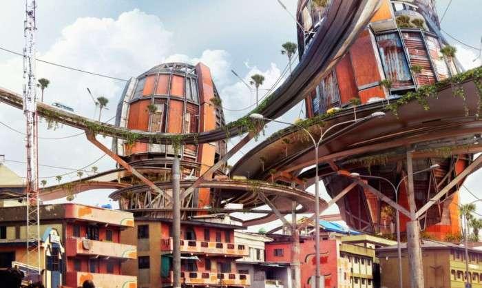 Антиутопия: архитектор предлагает построить мегатрущобы в центре города