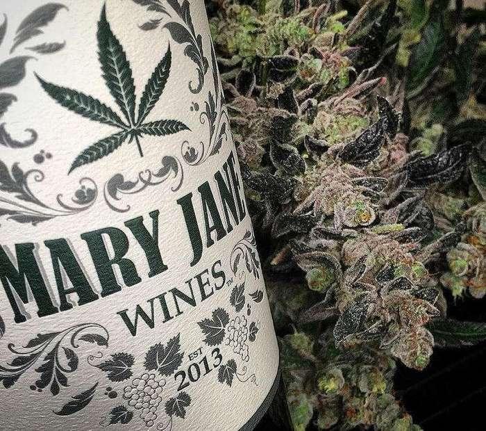 Два в одном: В США выпустили марихуановое вино