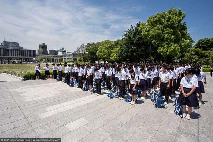 Хиросима после ядерной бомбардировки