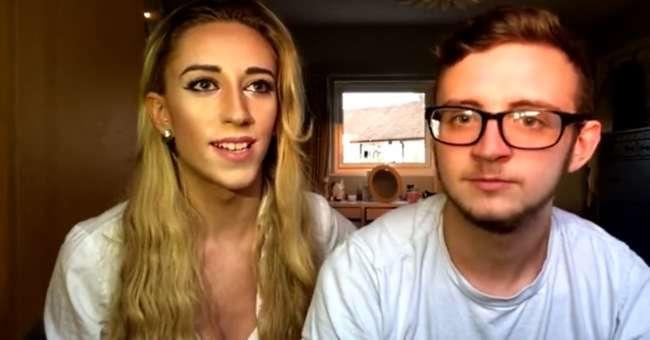 Женщина-транссексуал наконец-то нашла парня своей мечты, который раньше был... девушкой
