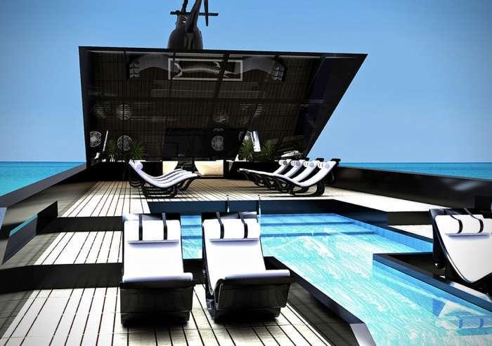Внутри «Черного лебедя»: самая элегантная яхта в мире