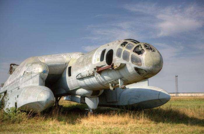 Фотографии одного из лучших советских самолетов-амфибий спустя 50 лет после его создания