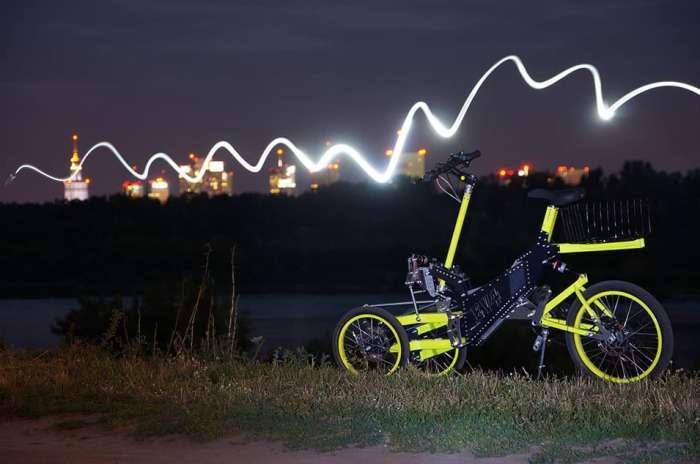 Новый трехколесный электропед, который заменит автомобиль