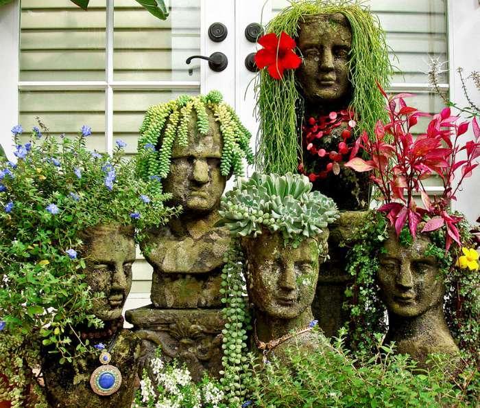 17 великолепных декораций, которые превратят дачный участок в сказочное место