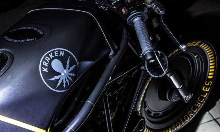 Настоящий эксклюзив: кастом Ducati 750 SS Kraken от Iron Pirate Garage