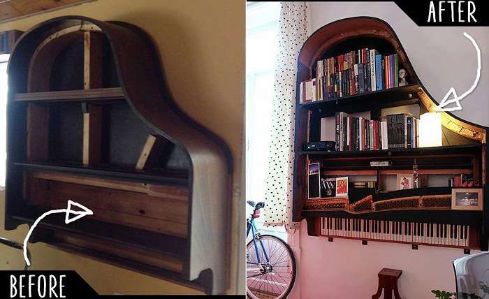 31 интересный вариант трансформации старых вещей, которые украсят любую комнату