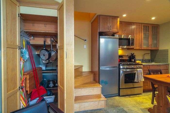Домик площадью 45 квадратных метров, в котором есть всё для комфортной жизни