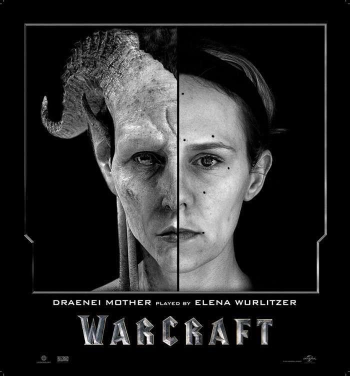 Актеры фильма «Warcraft» до и после цифровой обработки (8 фото)