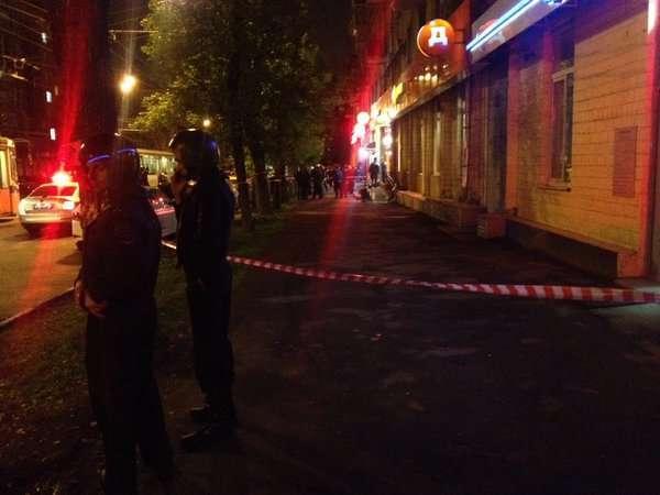 Захват заложников в московском банке