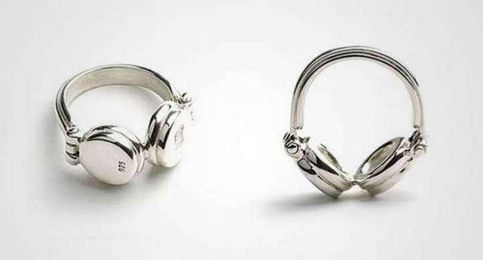 Кольца с очень необычным дизайном