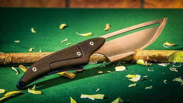 Так вы еще не резали: раскладные ножи с уникальным механизмом открытия