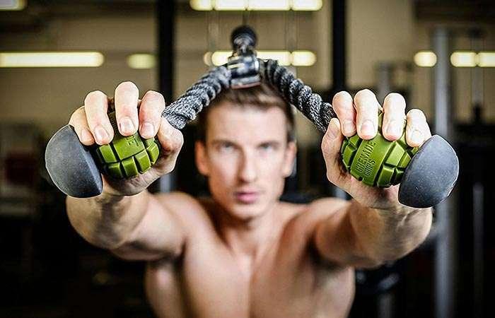 Граната для мужика: новый аксессуар, который поможет еще сильнее накачать мышцы