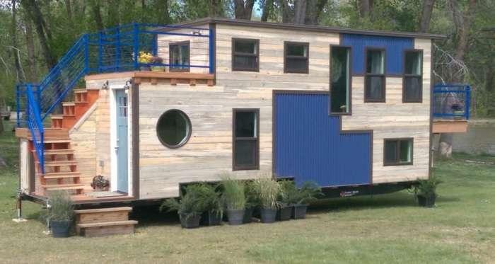 Дом на колесах, в котором можно жить и при - 45 градусах