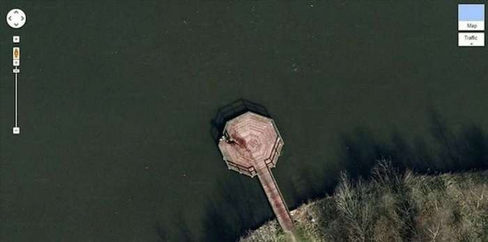 Шокирующие кадры, попавшие на фото компании Google
