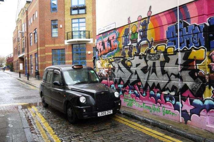 Граффити Лондона как часть городской культуры (24 фото)
