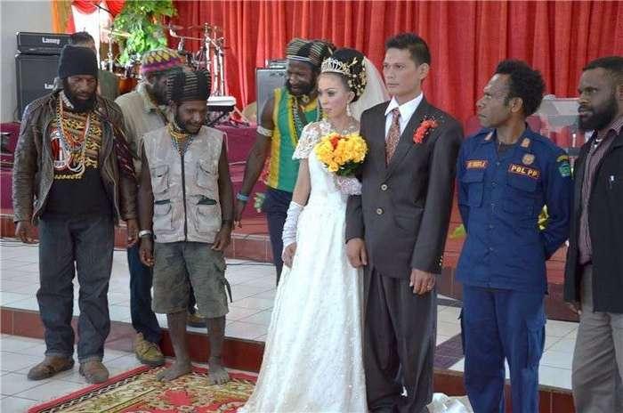 Папуасско-индонезийская свадьба