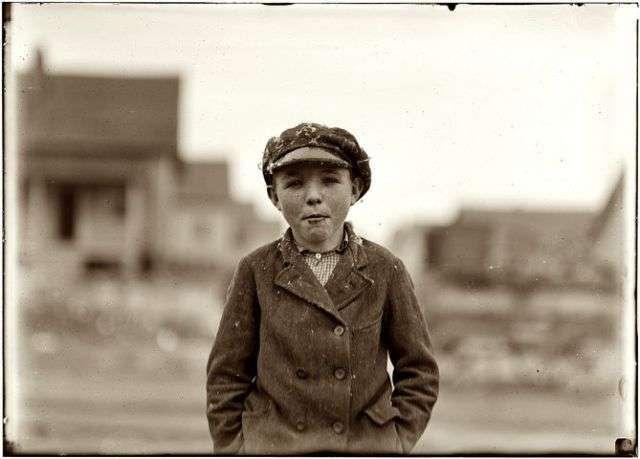 Американские дети начала 20-го века (62 фото)