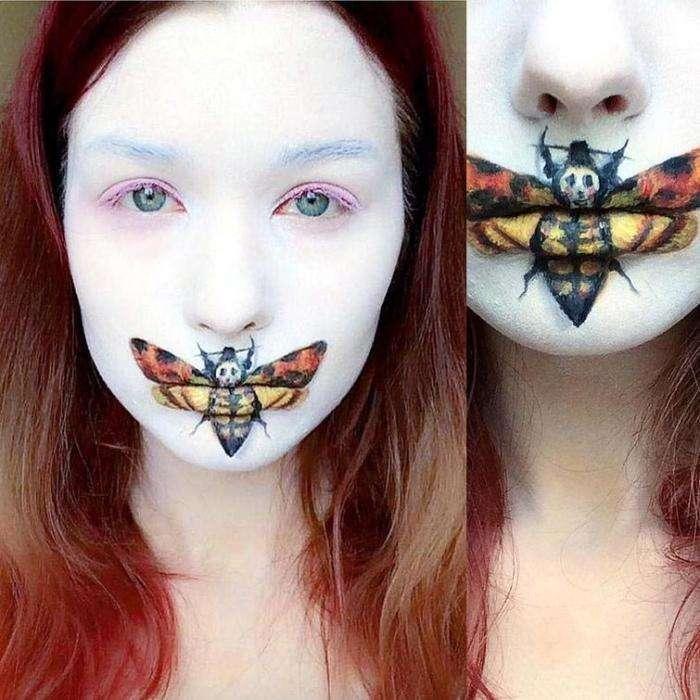 Саида Микевичуте — молодая визажистка, поражающая своими перевоплощениями (26 фото)
