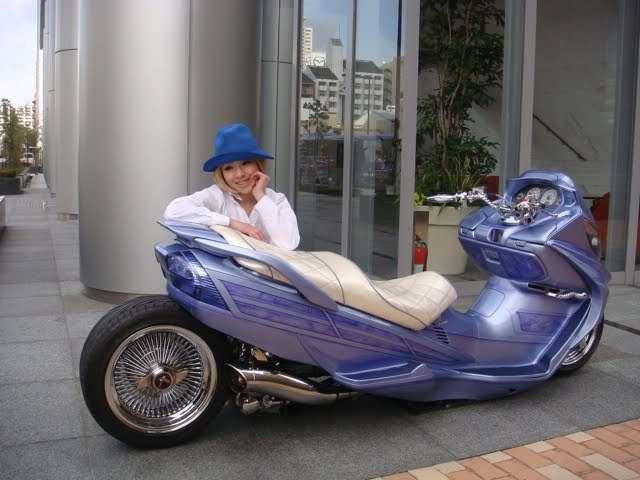 Тюнинг скутеров по японски (30 фото)