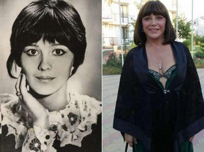 Знаменитые певицы и актрисы тогда и сейчас