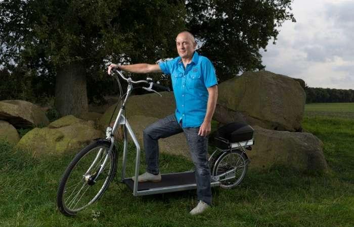 Lopifit — первый в мире велосипед, совмещенный с беговой дорожкой