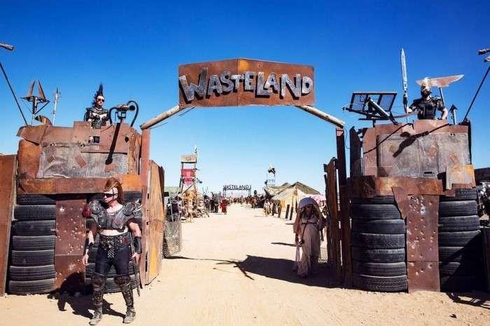 Фестиваль в стиле Безумного Макса «Wasteland» (24 фото)