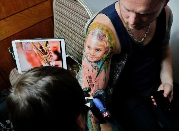 Международная тату-конвенция в Бухаресте
