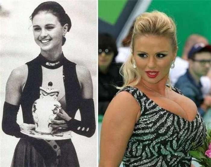 Известные люди тогда и сейчас