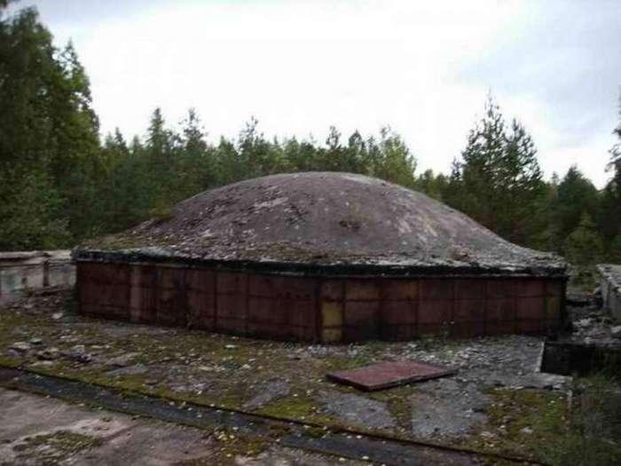 Секретные объекты советских времён