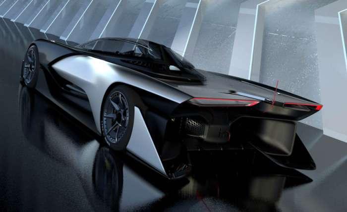 Faraday Future FFZERO1: электромобиль будущего в 1000 л.с. с управлением от смартфона