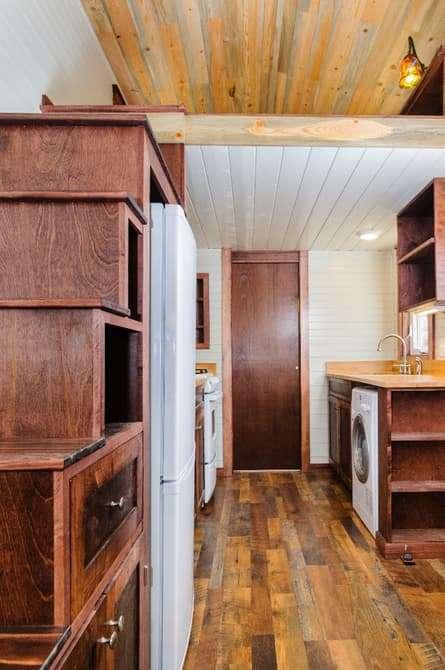 Полноценное жилище на 30 кв. метрах: домик на колесах