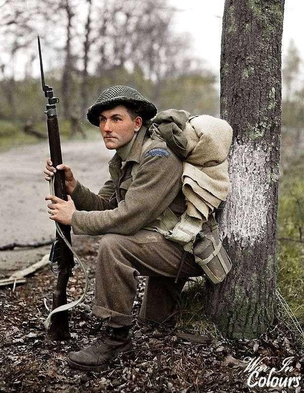 Цветные фото времен Второй мировой войны (39 фото)