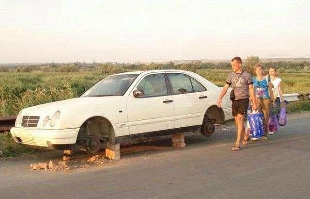 Неисправные машины (60 фото)