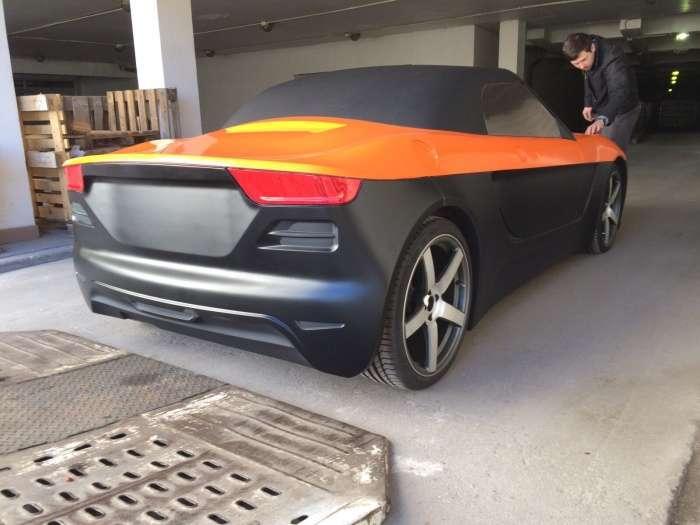 Родстер «КРЫМ» проходит технические испытания на дорогах Крыма