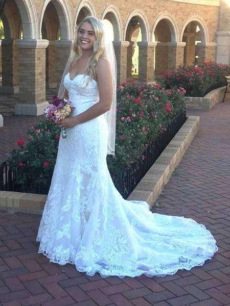 Девушка похудела к свадьбе