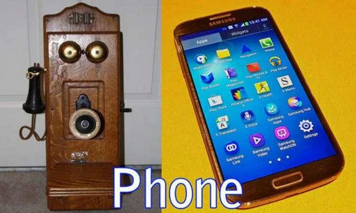 Эволюция бытовых предметов