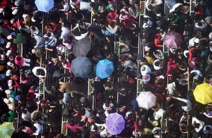 Будни китайских городов (21 фото)