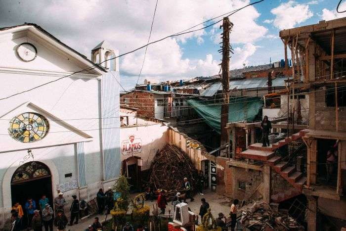 Сан-Педро - тюрьма-коммуна в центре боливийского города Ла-Паса