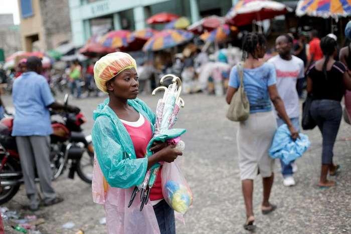 Кадры жизни людей в столице Гаити