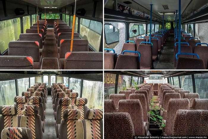 Место, где умирают автобусы