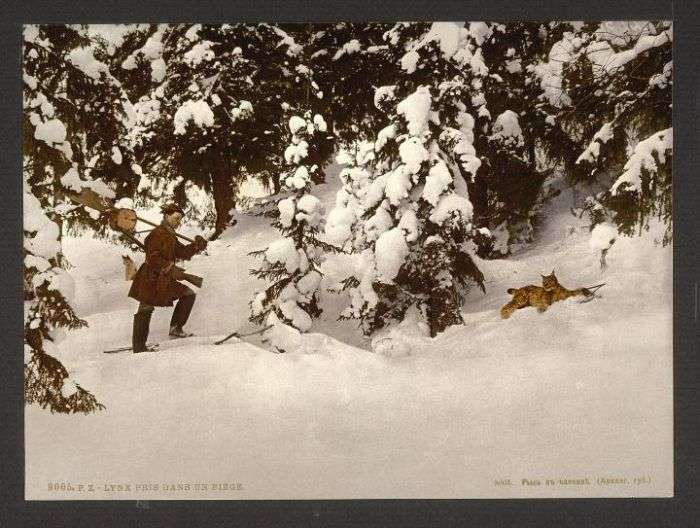 Первые цветные фото Российской империи (21 фото)