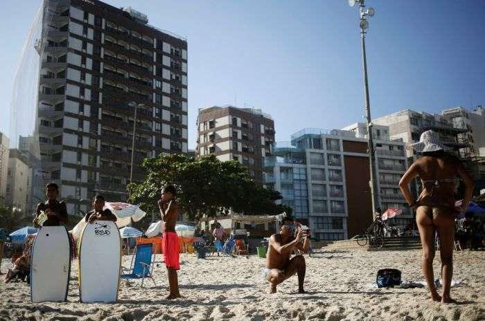Пляжная жизнь Рио-де-Жанейро (26 фото)