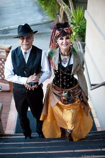Свадьба в стиле стимпанк (29 фото)