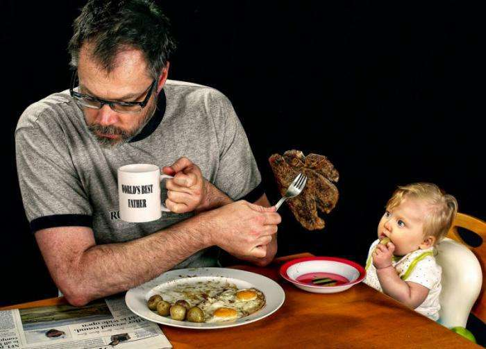 Веселый фотопроект: «Лучший папа в мире» (25 фото)