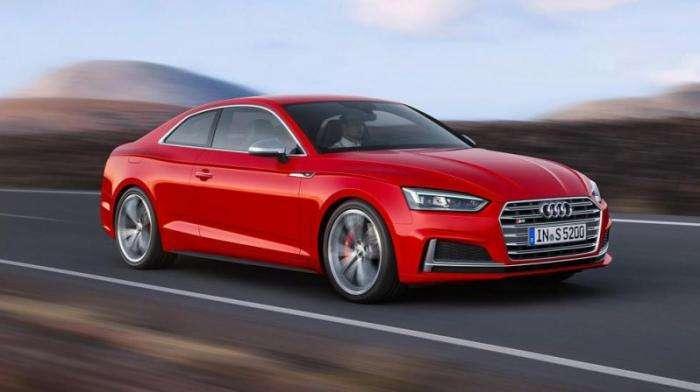 Audi представила A5 нового поколения (10 фото)
