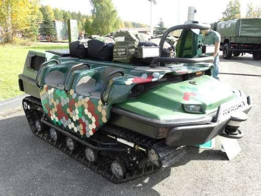 Российские инженеры показали всему миру военных роботов Марс А-800