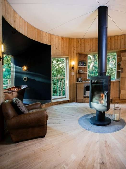 Домик на дереве - мечта детства, воплощенная в реальность